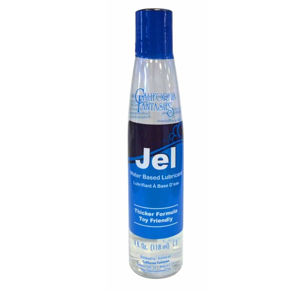 Jel Water Based Gel Lubricant 4 fl oz Bottle