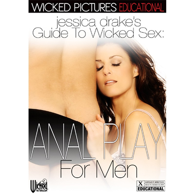 Jessica Drakes Guide To Wicked Sex: Anal Play For Men DVD