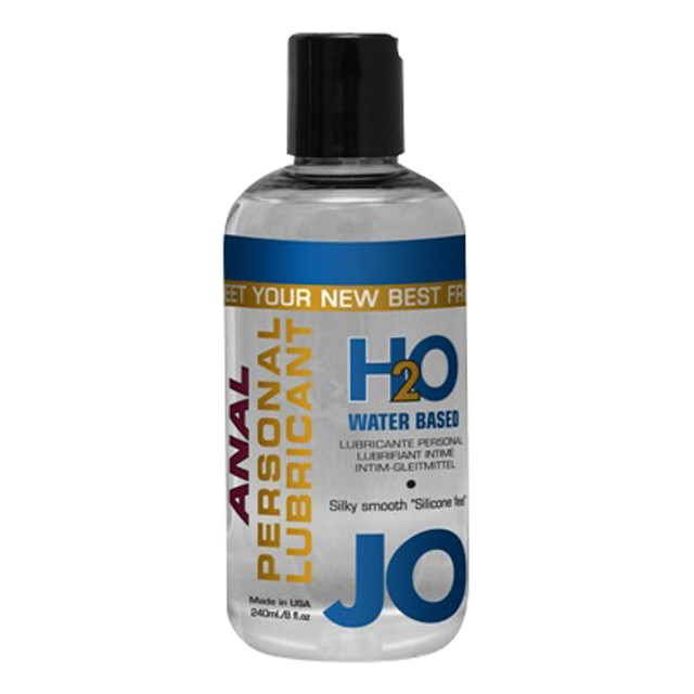 JO Anal H2O 2.5oz. Water Based Lubricant