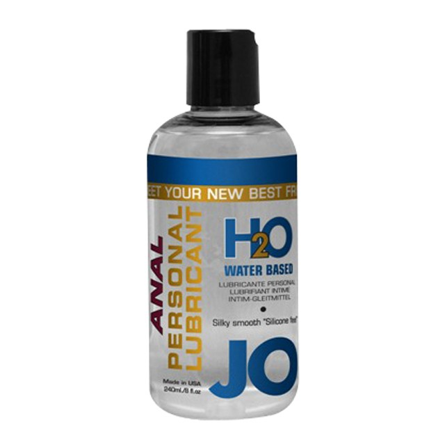 JO Anal H2O 8oz. Water Based Lubricant