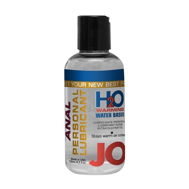 JO Anal H2O Warming Lubricant 4.5oz.