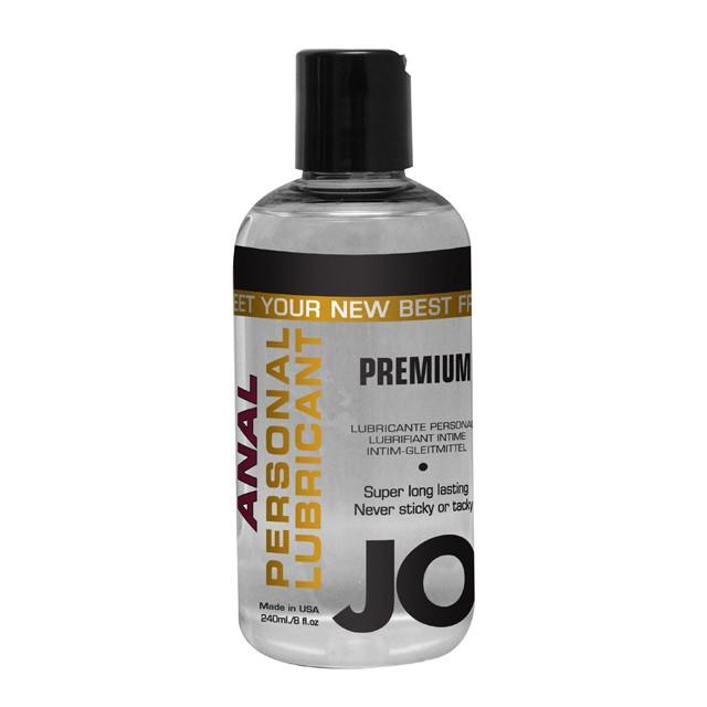 JO Anal Premium Silicone Lubricant 8oz.