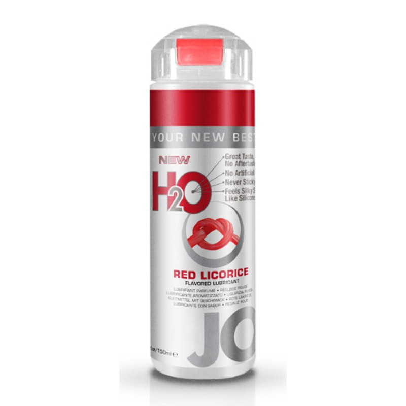 JO Flavors Red Licorice 5.25oz Water Based Lubricant