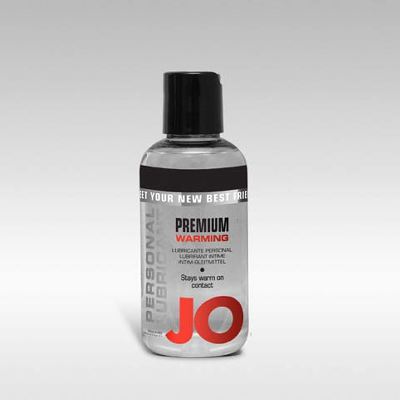 JO for Men Premium Warming Silicone Lubricant 4oz