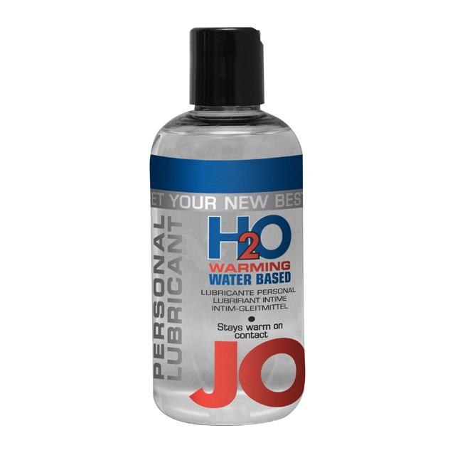 JO H2O Warming Lubricant 8oz