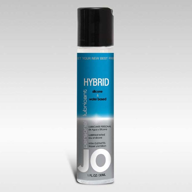 JO Hybrid Lubricant 1oz Silicone & Water Based Blend