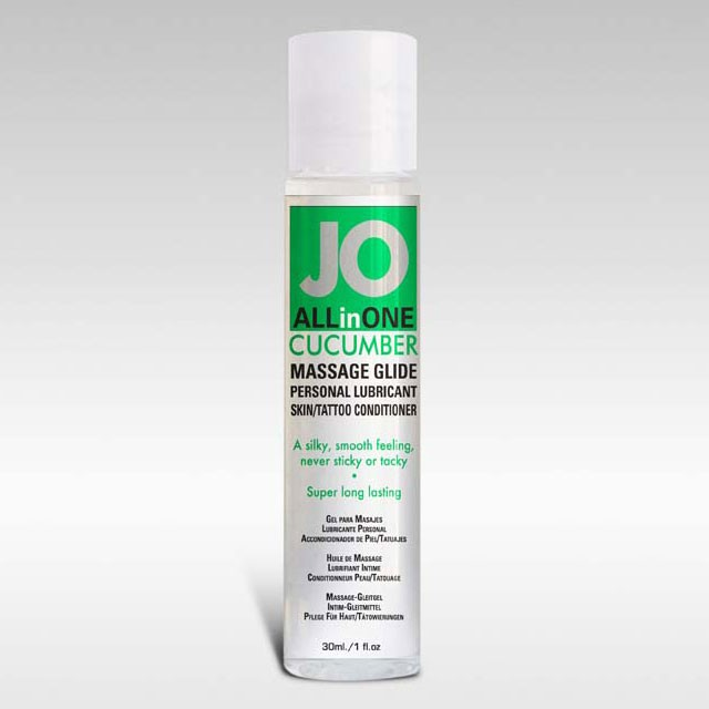 JO Massage Glide Cucumber 1oz