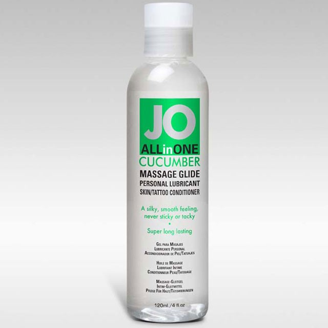 JO Massage Glide Cucumber 4.5oz