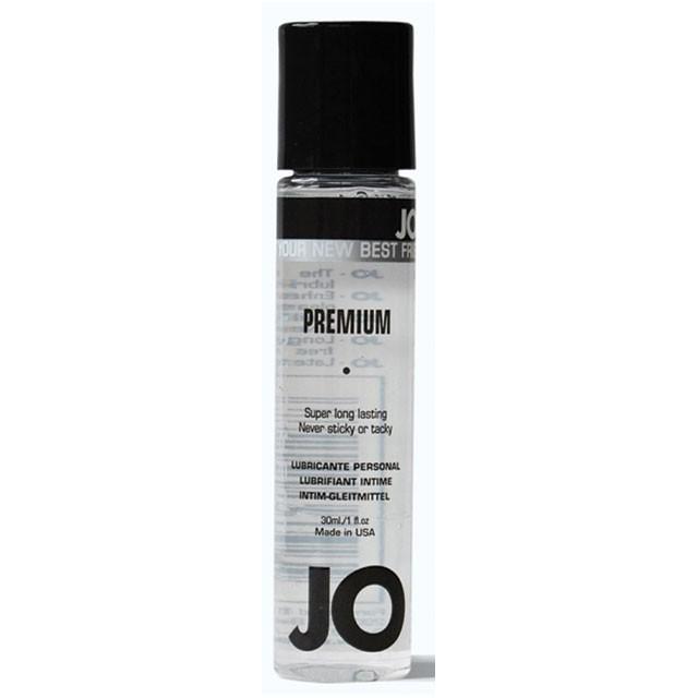 JO Premium Silicone Lubricant 1oz.
