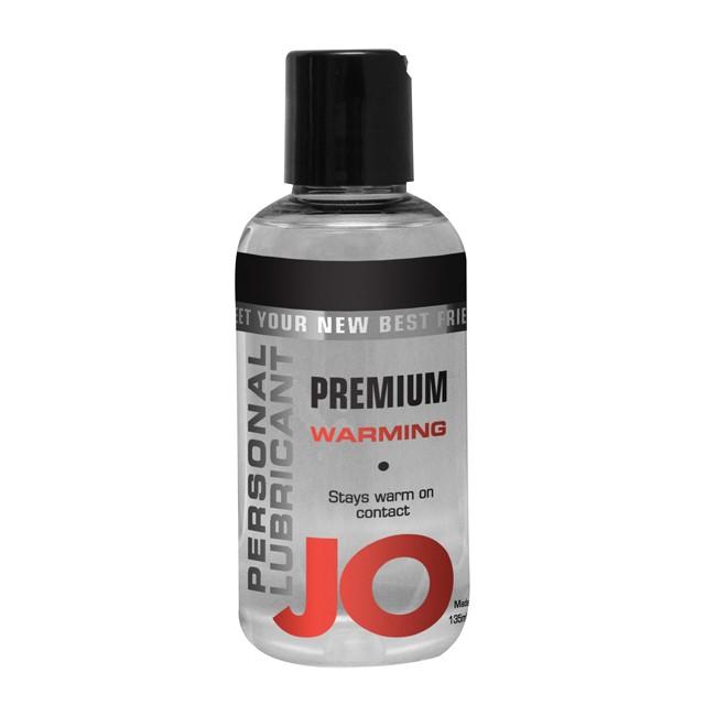 JO Premium Warming Silicone Lubricant 2.5oz