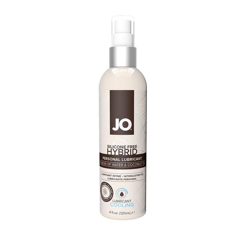 JO Silicone Free Hybrid Lubricant w/Coconut Cooling 4 fl oz