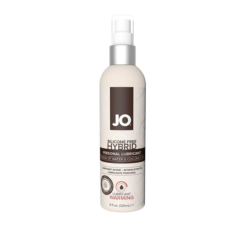 JO Silicone Free Hybrid Lubricant w/Coconut Warming 4 fl oz