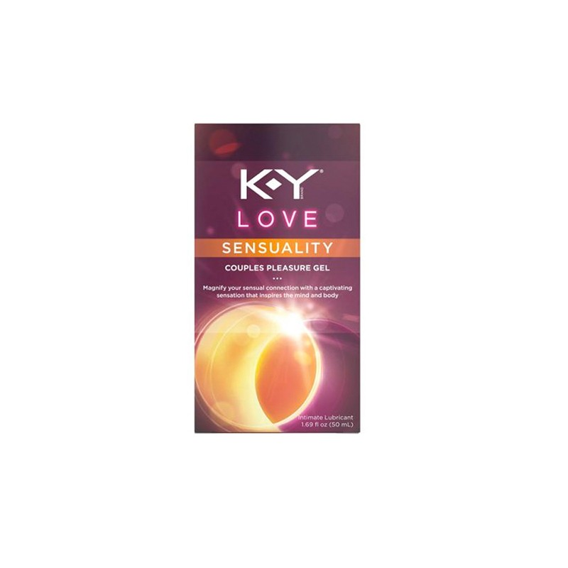 K-Y Love Sensuality Couples Pleasue Gel Waterbased Lubricant 50ml. (Warming)