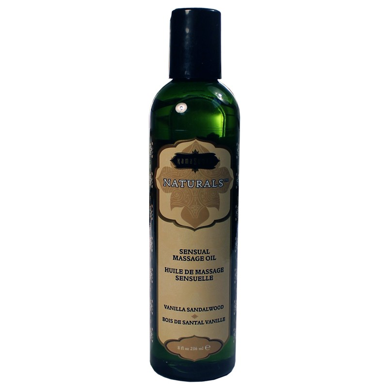 Kama Sutra Massage Oil Naturals Vanilla Sandalwood