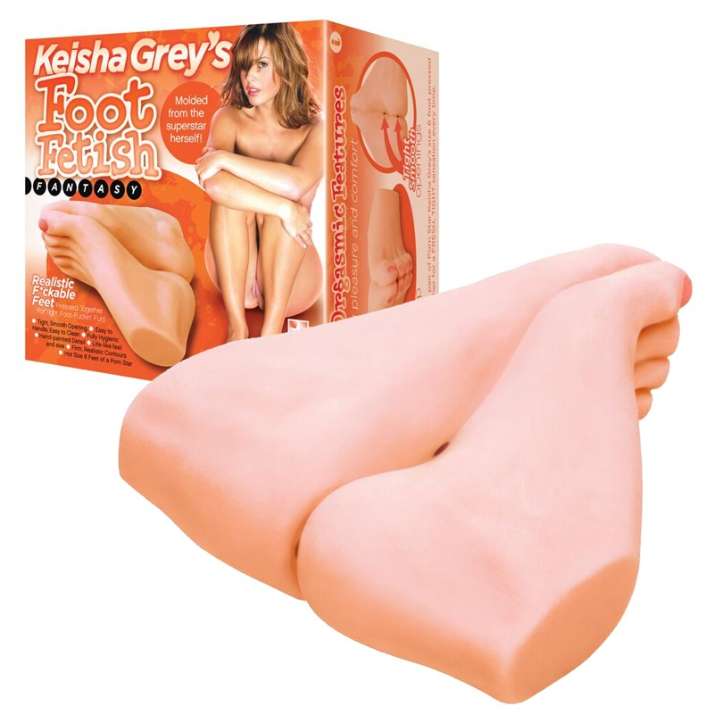 Keisha Grey's Foot Fetish Fantasy