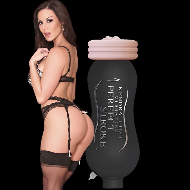 Kendra Lust Perfect Stroke Vibrating Vagina