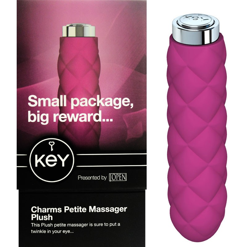 Key™ by Jopen™ - Charms - Plush Pink