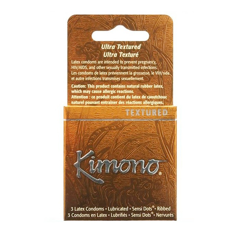 Kimono Sensation Condom (3Pk)