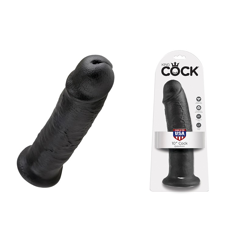 King Cock - 10in Cock Black