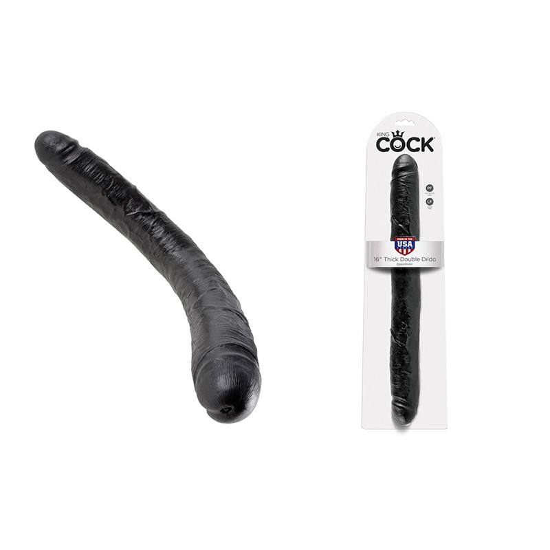 King Cock - 16in Thick Double Black