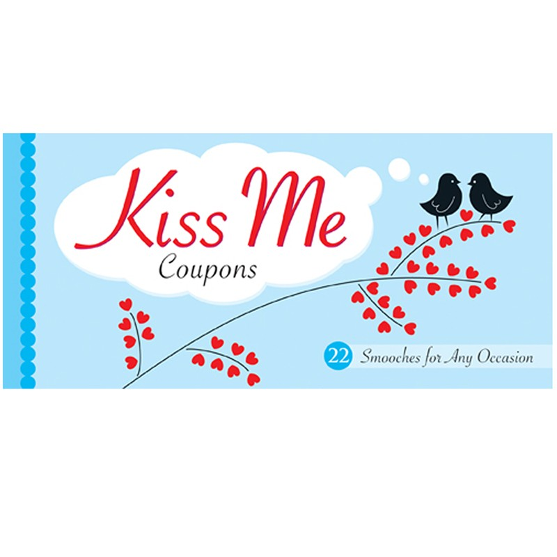 Kiss Me Coupons Book