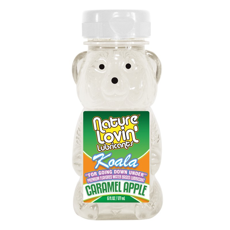 Koala Caramel Apple Flavored Lubricant 6 fl oz