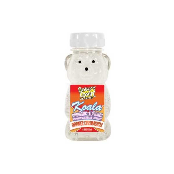 Koala Orange Creamsicle Flavored Lubricant 6 fl oz