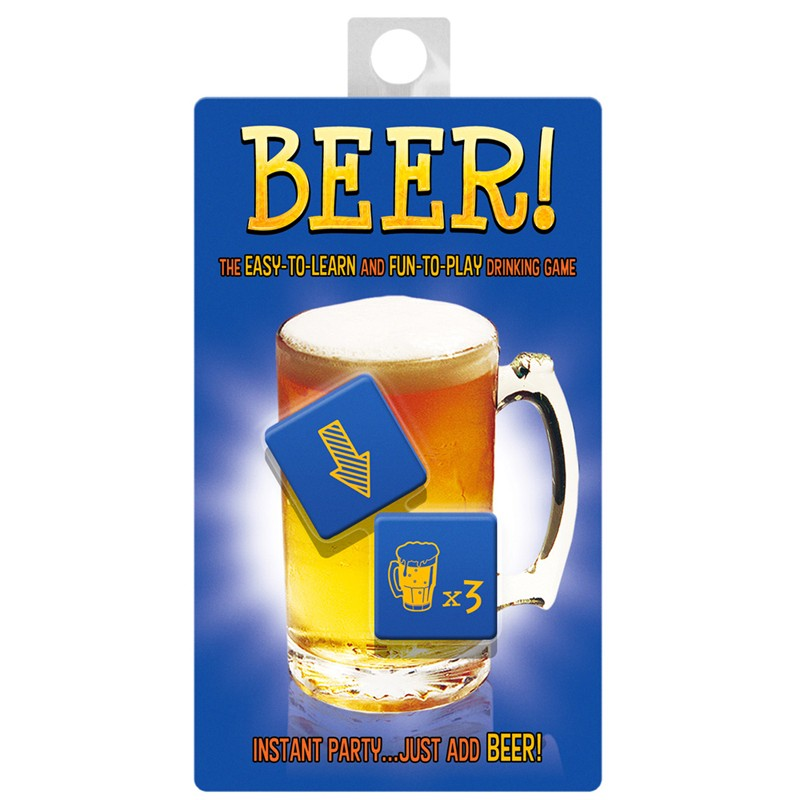 Large Beer Dice