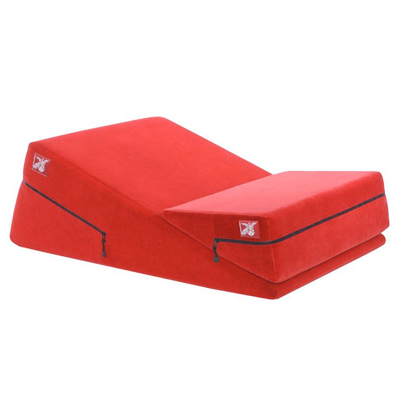 Liberator Wedge and Ramp Combo Red