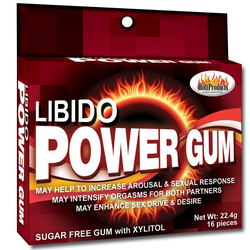 Libido Power Gum-16/pk