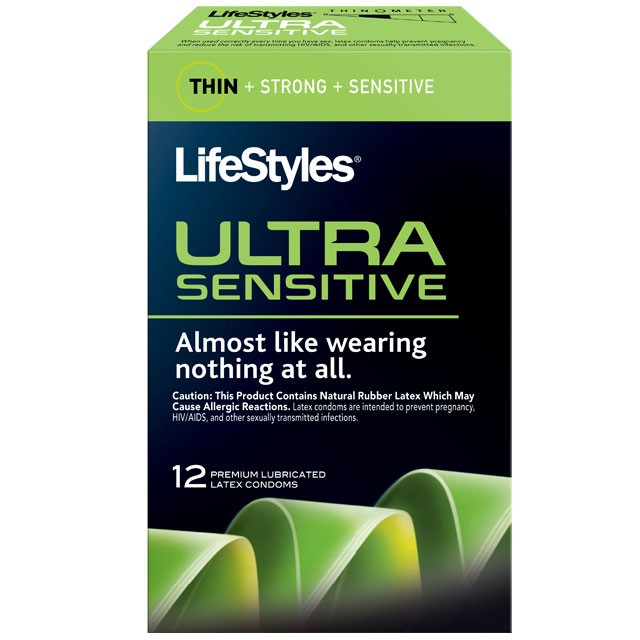 LifeStyles Ultra Sensitive Condoms (12 pack)