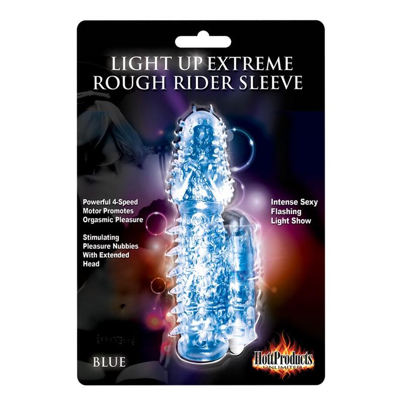 Light Up Extreme Rough Rider Slv MS-Blue