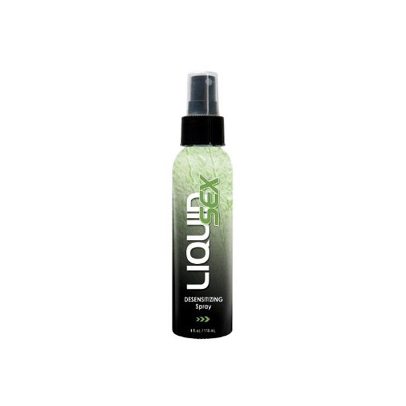 Liquid Sex Desensitizing Spray for Him, 4 fl. oz. (118 ml) Spray Bottle