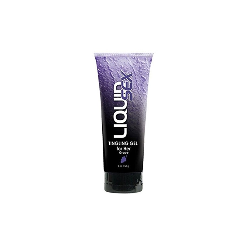 Liquid Sex Tingling Gel for Her, Grape 2 oz. (56 g) Tube