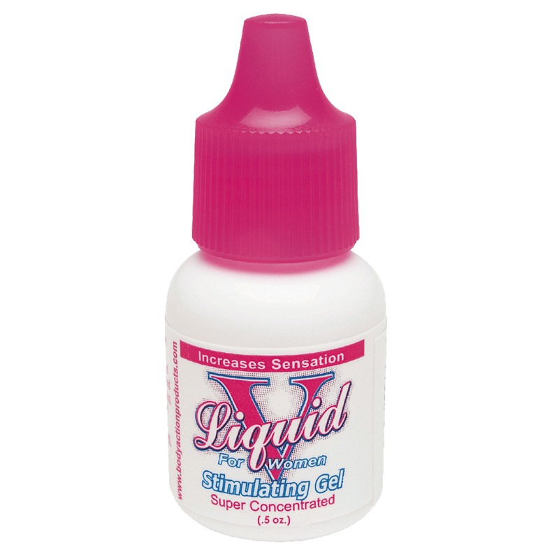 Liquid V for Women Stimulating Gel 0.5oz bottle