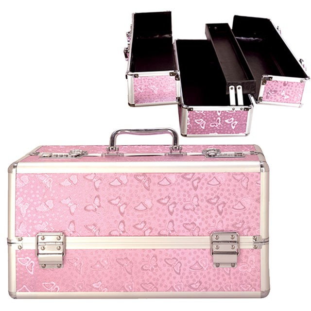 Lockable Vibe Case Large Pink