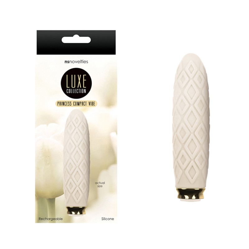 Luxe Compact Rechargeable Vibe Princess Ivory