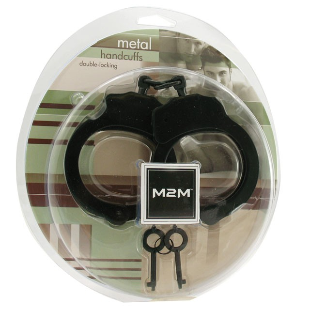 M2M Double Locking Handcuffs