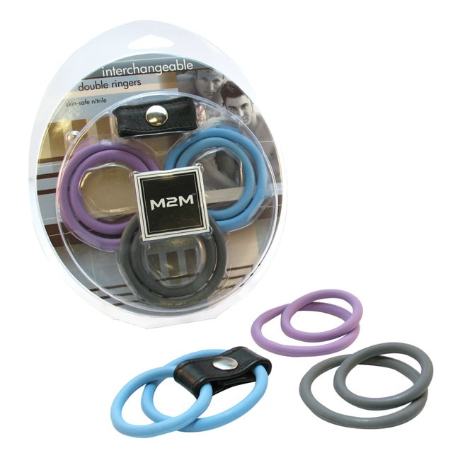 M2M Nitrile Interchangeable Double Ring