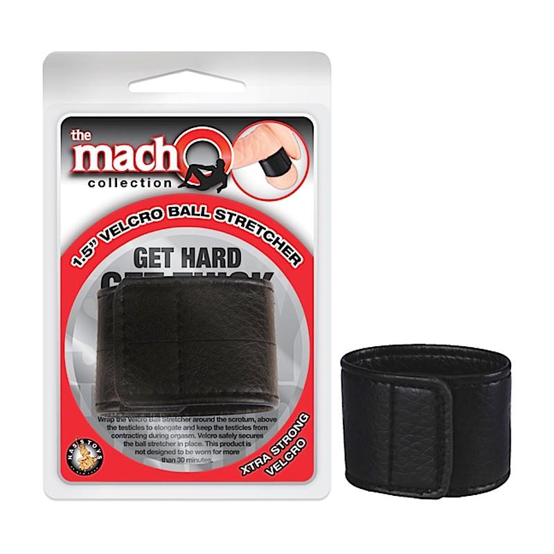 Macho 1.5 inch Velcro Ball Stretcher