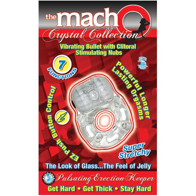 Macho Crystal Coll Erection Keeper (Clear)