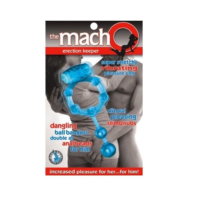 Macho Erection Keeper (Blue)
