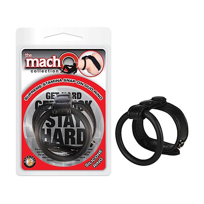 Macho Supreme Stamina Snap-On Duo Ring