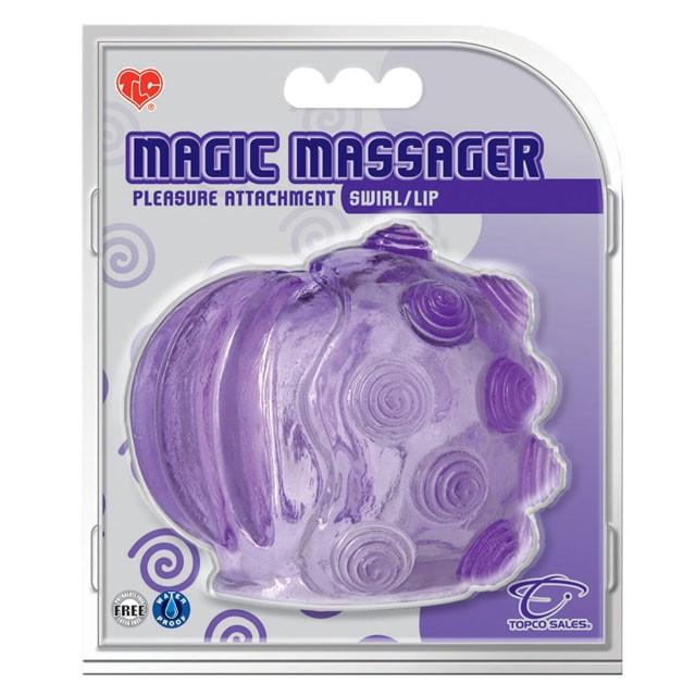 Magic Massager Attachment (Swirl/Lip)