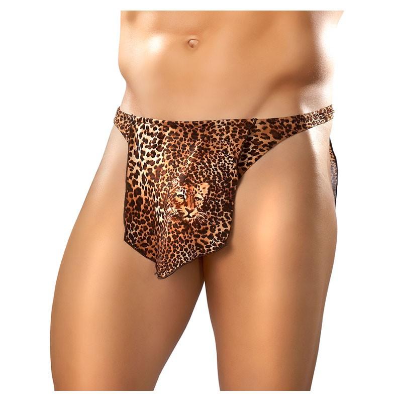 Male Power Animal Tarzan Brown Leopard OS