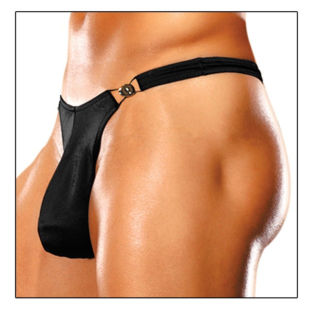 Male Power Bong Clip Thong S/M Underwear