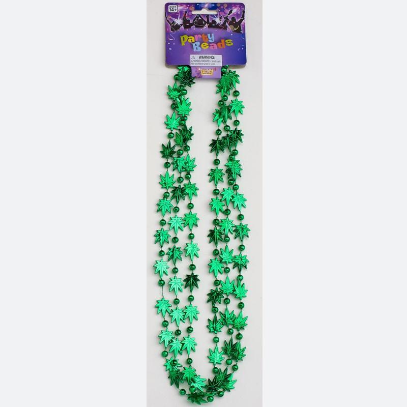 Marijuana Leaf Beads(3/per)