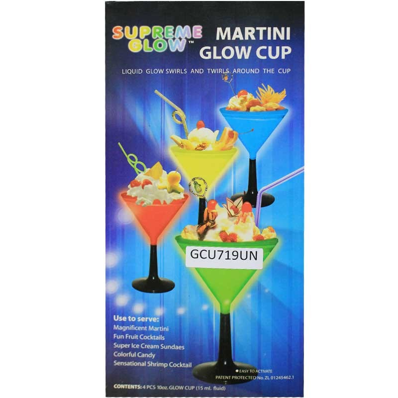 Martini Glow Glass ( Set of 4)