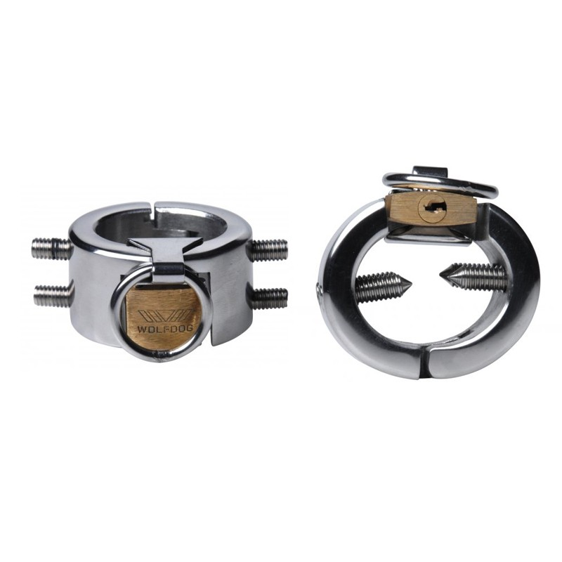 Masters Diablo Stainless Steel Cbt Piercing Chamber