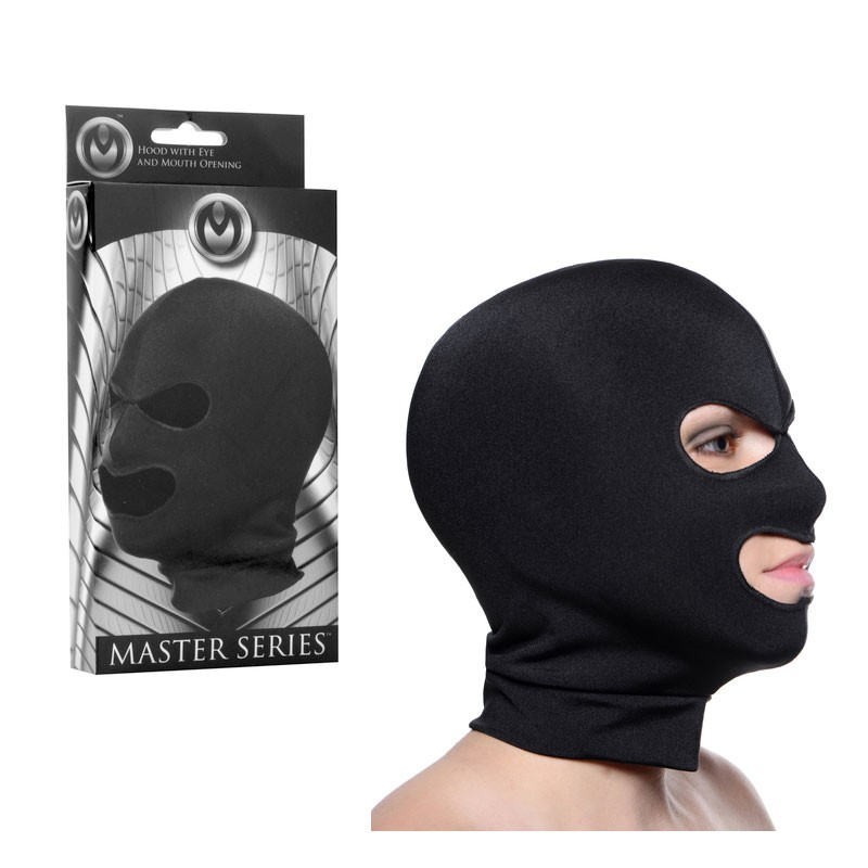 Masters Façade   Spandex Hood With Eye and Mouth Holes